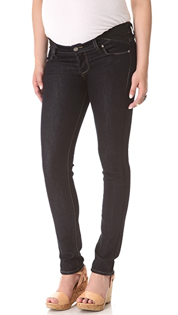 PAIGE Maternity Union Legging Jeans
