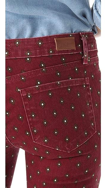 PAIGE Geo Verdugo Ultra Skinny Jeans
