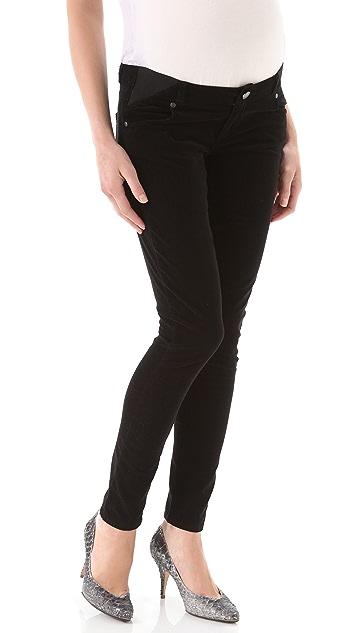 PAIGE Maternity Verdugo Ultra Skinny Corduroy Pants