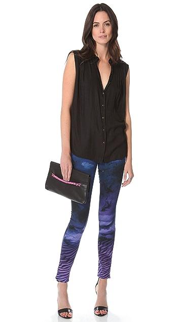 PAIGE Print Verdugo Ultra Skinny Jeans