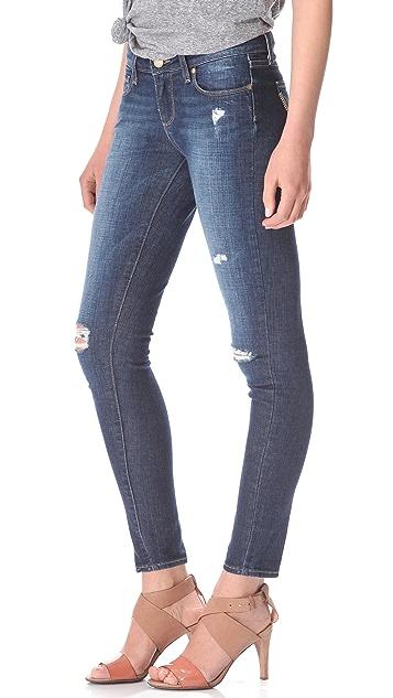 PAIGE Verdugo Ultra Skinny Destructed Jeans