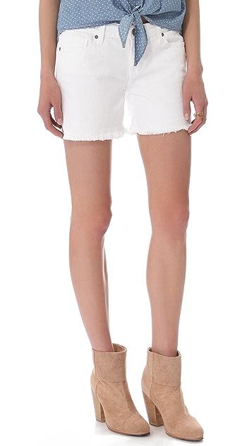 PAIGE Jimmy Jimmy Cutoff Shorts