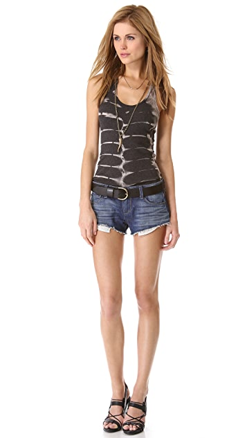 PAIGE Echo Park Cutoff Shorts