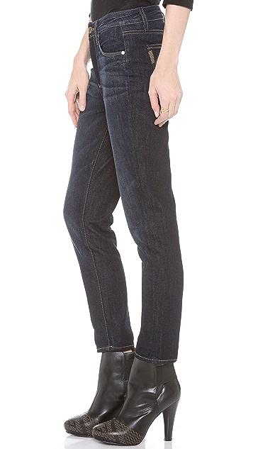 PAIGE Callie High Rise Boyfriend Jeans
