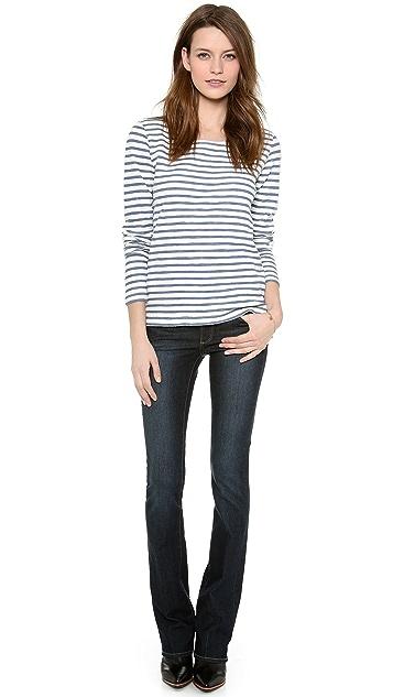 PAIGE Manhattan Bootcut Jeans