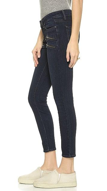 PAIGE Transcend Edgemont Crop Jeans