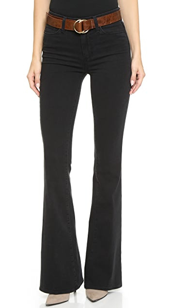 PAIGE High Rise Bell Canyon Jeans