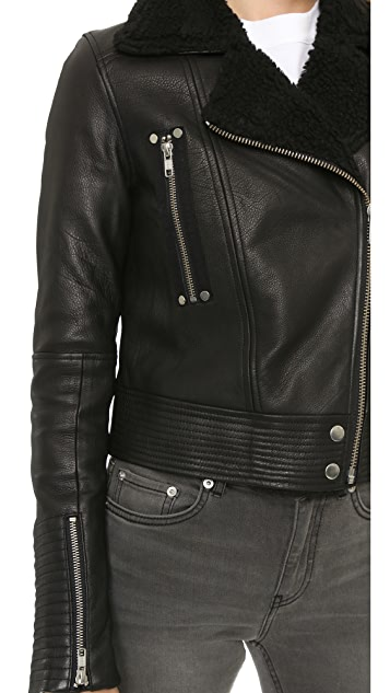 PAIGE Ronney Shearling Jacket