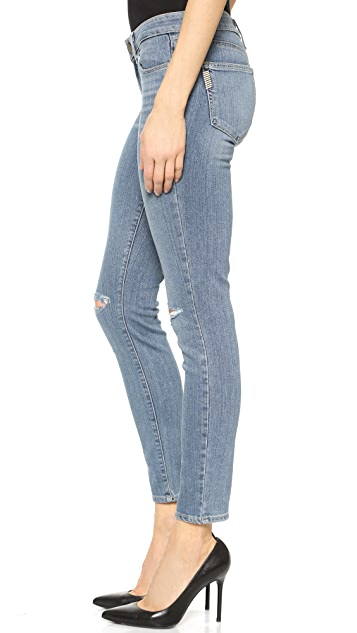 PAIGE Transcend Verdugo Ankle Jeans