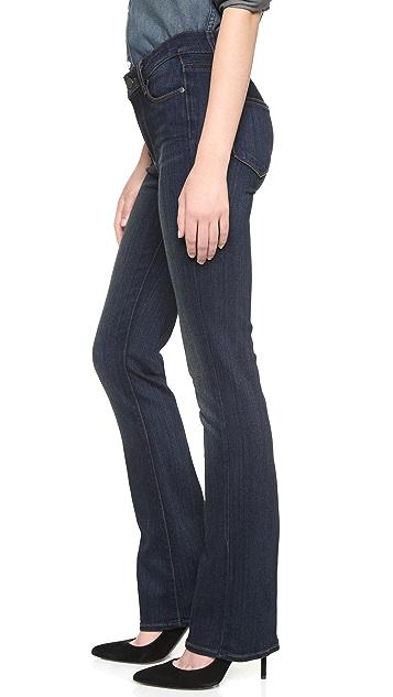 PAIGE The Principle Transcend Petite Slim Boot Jeans