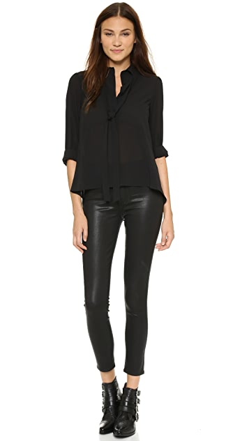 PAIGE Margot Ankle Skinny Jeans