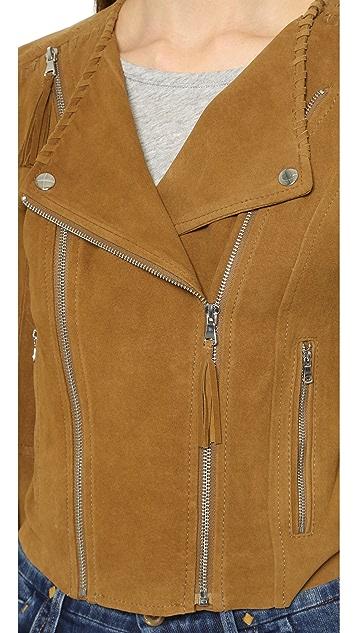 PAIGE Tiana Suede Jacket