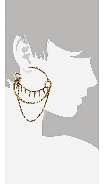 A Peace Treaty Manu Earrings