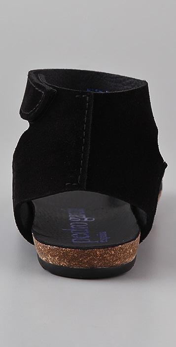 Pedro Garcia Jana Suede Flat Sandals