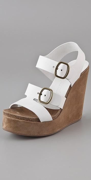 Pedro Garcia Teri Wedge Sandals