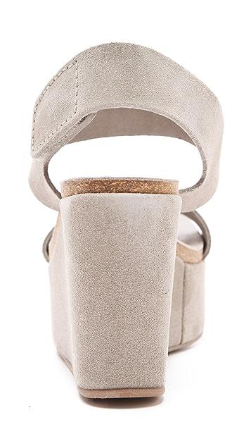 Pedro Garcia Dakota Wedge Sandals
