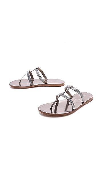 Pedro Garcia Idoya Crystal Sandals