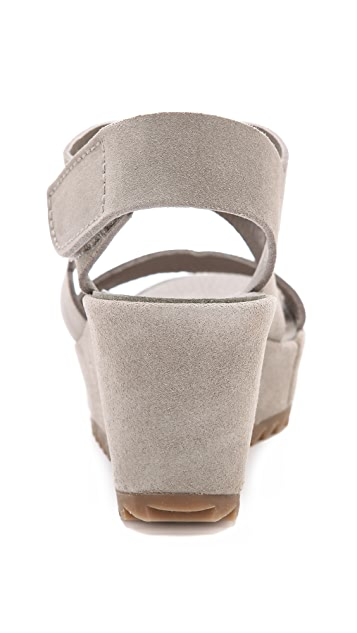 Pedro Garcia Fedra Low Wedge Sandals