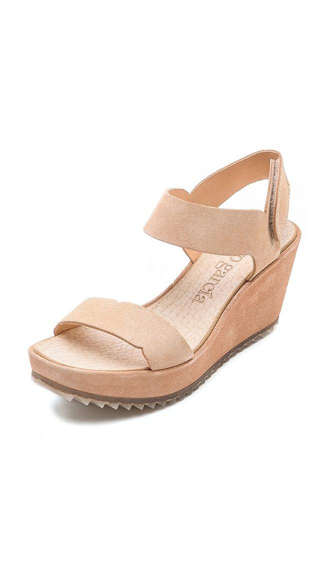 c01b1df14e96 Pedro Garcia Fabiane Mid Wedge Sandals