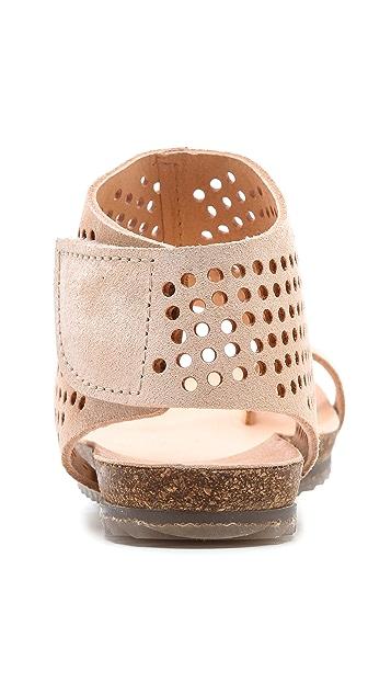 Pedro Garcia Venus Perforated Toe Ring Sandals