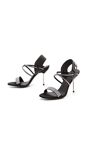 Pedro Garcia Monique Crystal Sandals