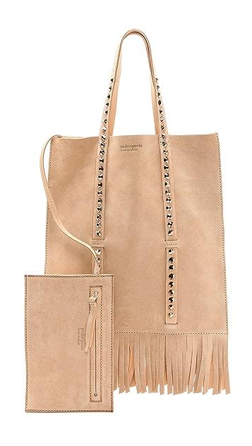 Pedro Garcia Flat Fringe Bag