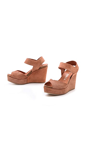 Pedro Garcia Maby Wedge Sandals