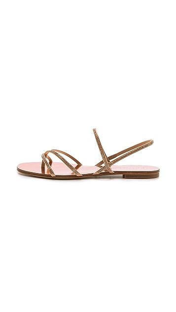 Pedro Garcia Ebbie Embellished Sandals