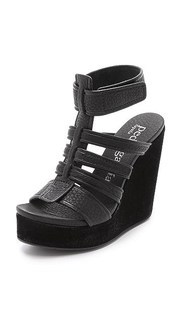 Pedro Garcia Taylin Wedge Sandals