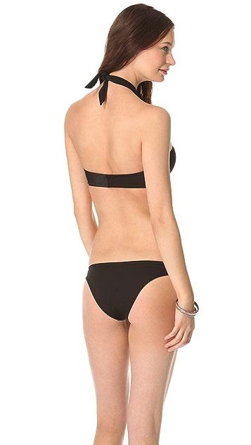 Peixoto Bella Bandeau Bikini Top