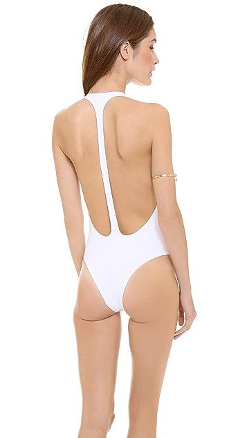 Peixoto Flamingo One Piece Swimsuit
