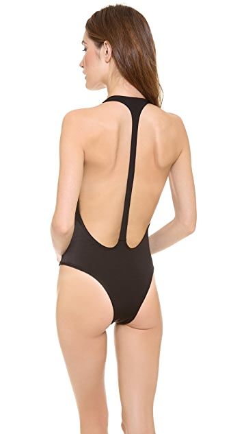 Peixoto Flamingo One Piece Swimsuit