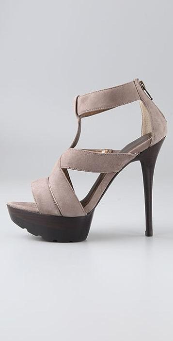 Pelle Moda Jahara Suede Sandals