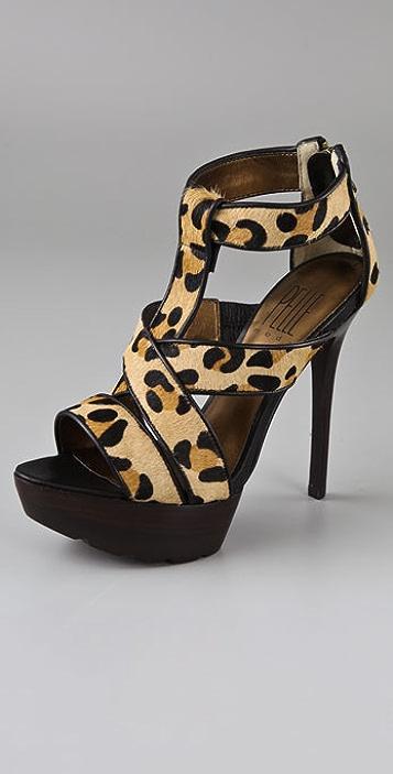 Pelle Moda Jahara Platform Sandals