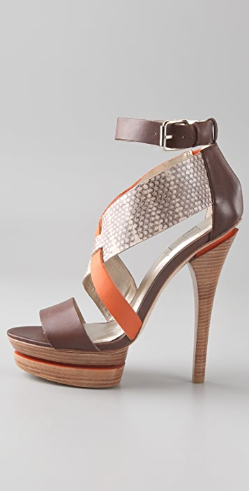 Pelle Moda Franky Platform Sandals
