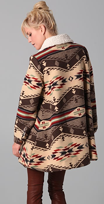 Pendleton for Opening Ceremony Flare Coat