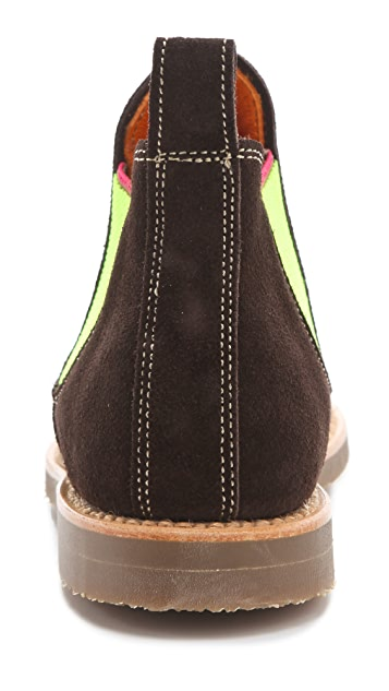 Penelope Chilvers Safari Booties with Neon Gore