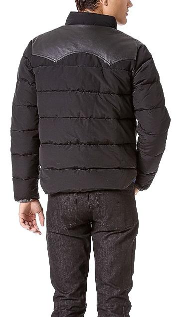 Penfield Stapleton Down Jacket with Leather Yoke