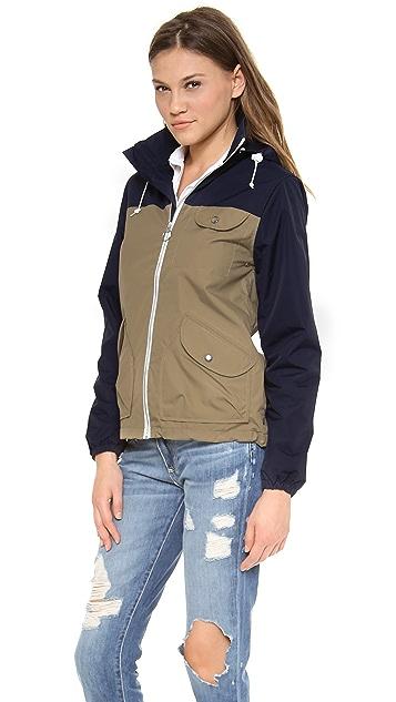 Penfield Zip Through Rain Jacket
