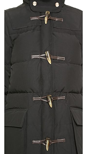 Penfield Keswick Hooded Mountain Parka with Toggles