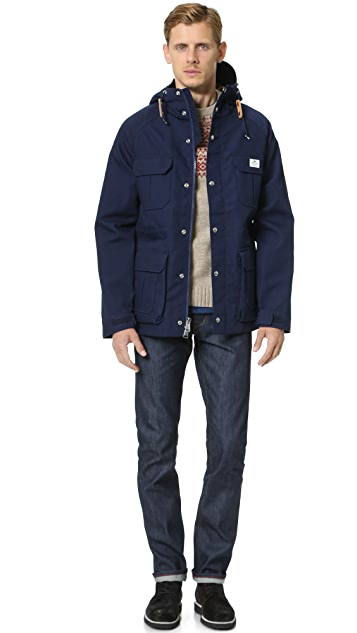 Penfield Kasson Bonded Hooded Mountain Parka