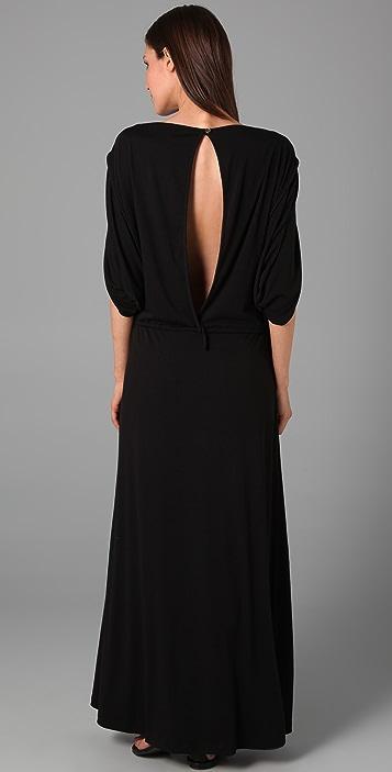 PENUMBRA Open Back Long Dress