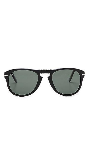 Persol Classic 714 Folding Polarized Sunglasses