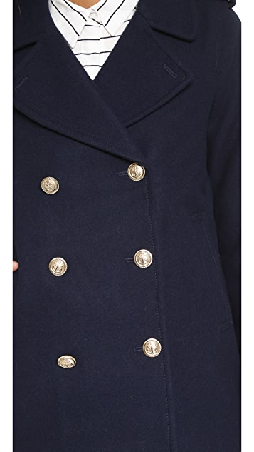 Petit Bateau Someya Pea Coat