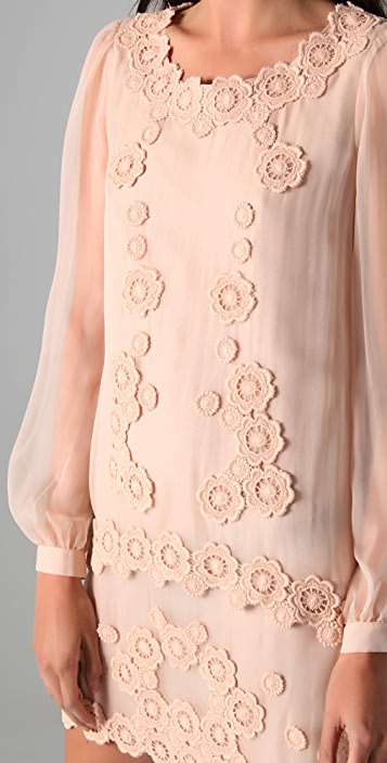 Philosophy di Lorenzo Serafini Drop Waist Dress