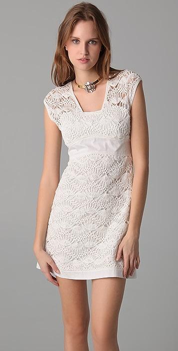 Philosophy di Lorenzo Serafini Lace Detail Dress