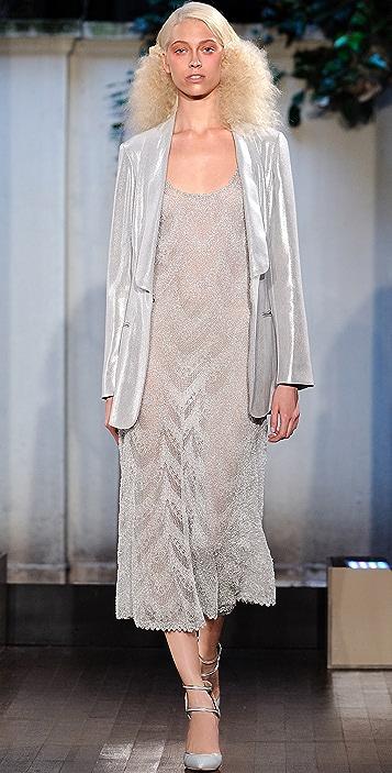 Philosophy di Lorenzo Serafini Metallic Maxi Dress