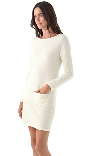 Philosophy di Lorenzo Serafini Long Sleeve Sweater Dress