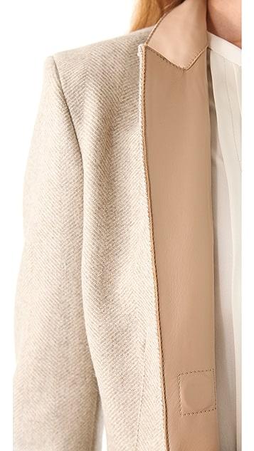 Philosophy di Lorenzo Serafini Herringbone Tweed Coat