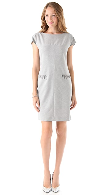 Philosophy di Lorenzo Serafini Pocket Stud Dress